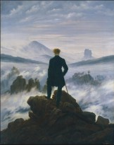 Öl auf Leinwand (Wanderer above the Sea of Fog), 94,8 x 74,8 cm © Stiftung für die Hamburger Kunstsammlungen, photo- Elke Walford