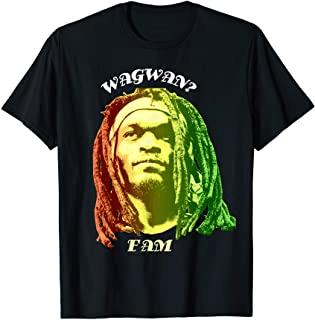 Wagwan T-shirt. Rasta Man Jamaican Culture. African American culture t-shirt design. Graphic t shirt design