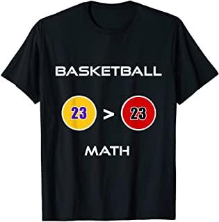 Lebron Jordan t shirt