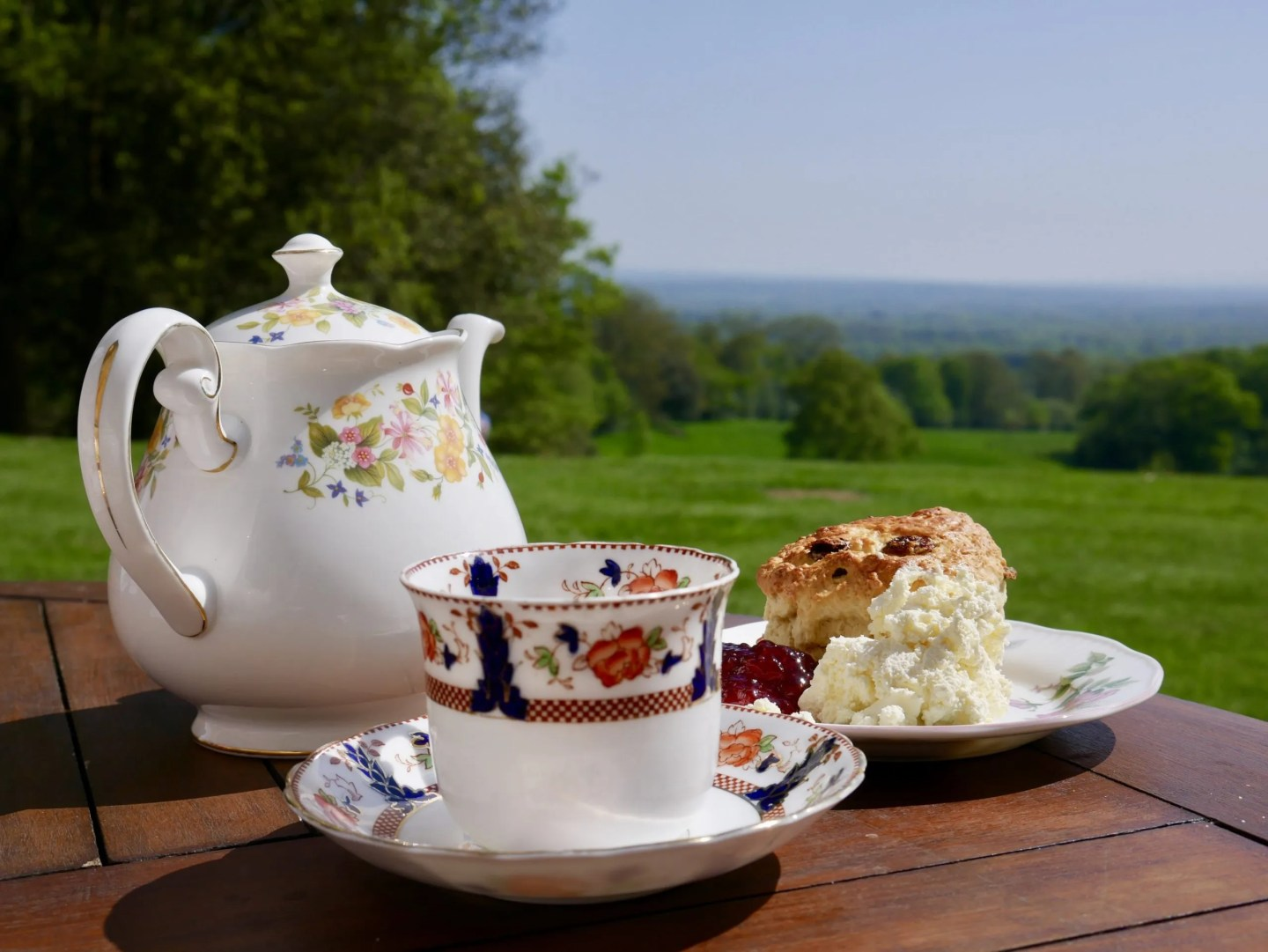 Leith Hill Place afternoon tea
