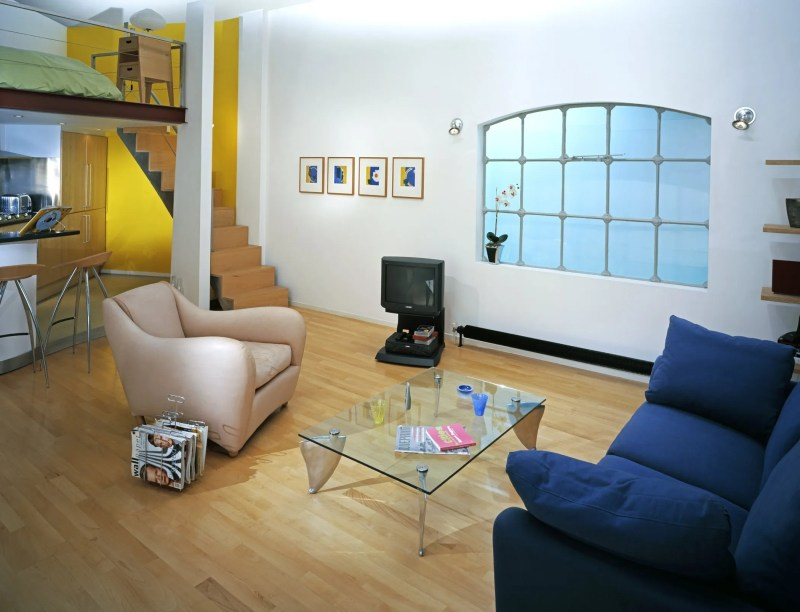 Loft style apartment 1998 Geffrye Museum