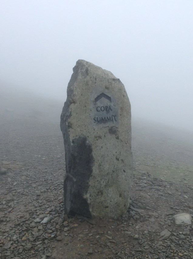 Snowdon - summit marker