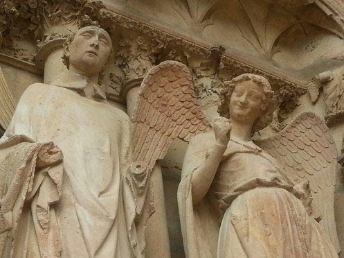 Smiling Angel, Reims Cathedral