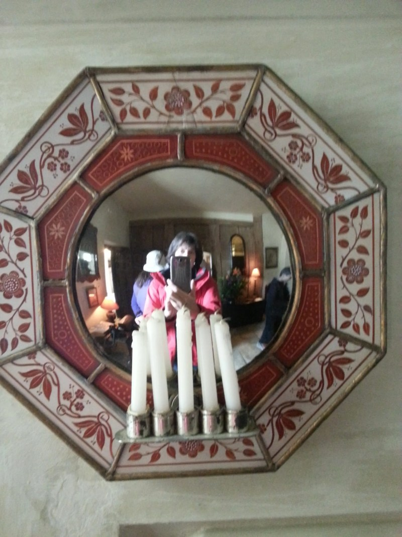 Mirrored sconce Nymans