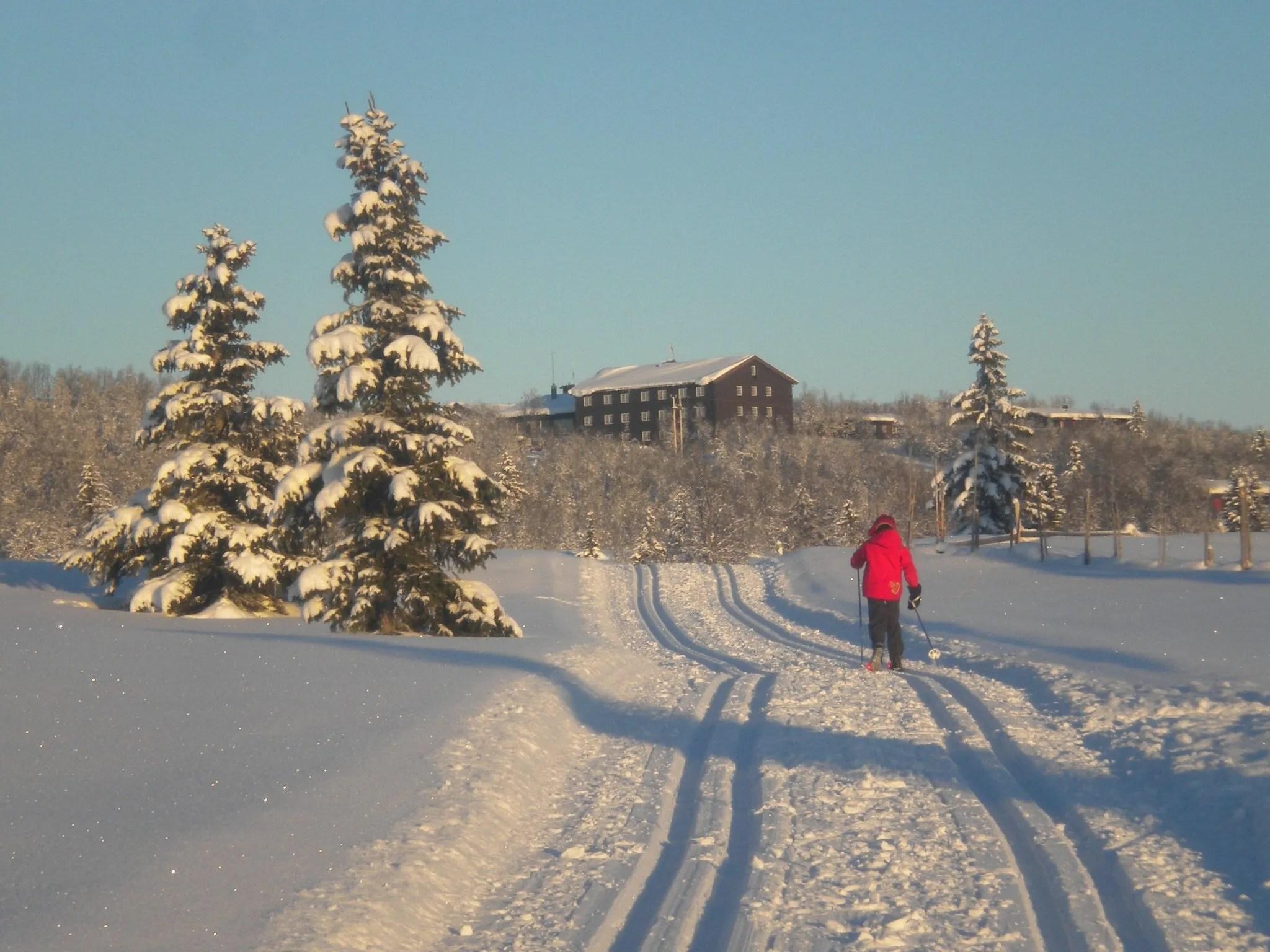 Venabu Skiing Norway