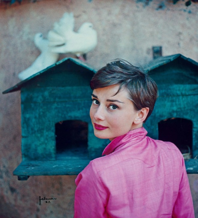 Audrey Hepburn by Phillipe Halsman for LIFE magazine, 1954 ©Phillipe Halsman/Magnum Press