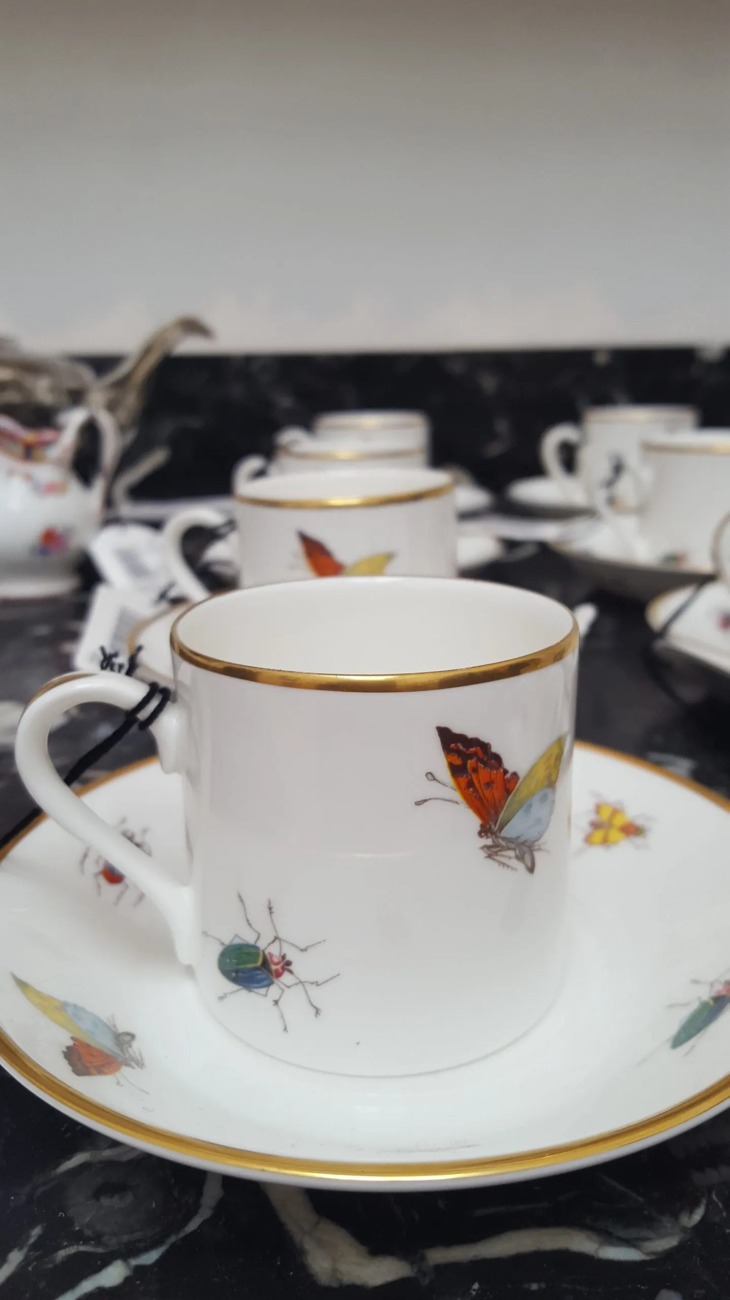 Debo bugs cup Duchess of Devonshire