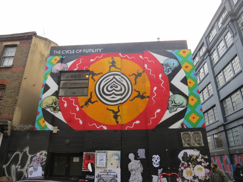 Cycle of Futility, INSA, Shoreditch, London