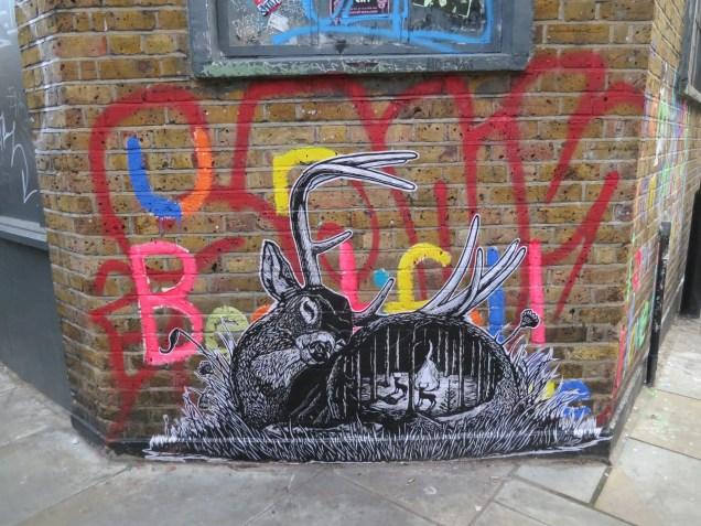 Deer, Shoreditch, London