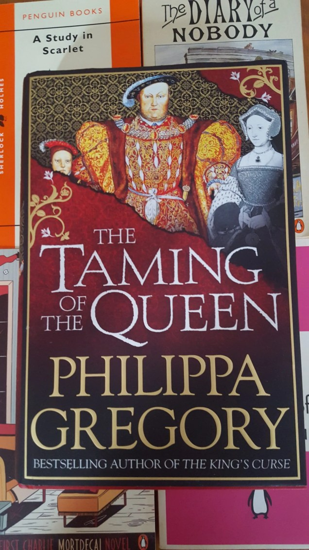 Taming Of The Queen Philippa Gregory covr