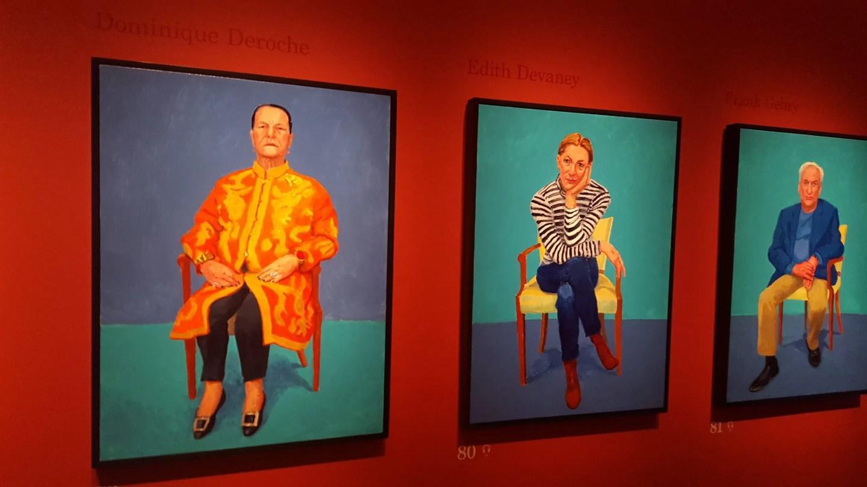 Edith Davaney, David Hockney