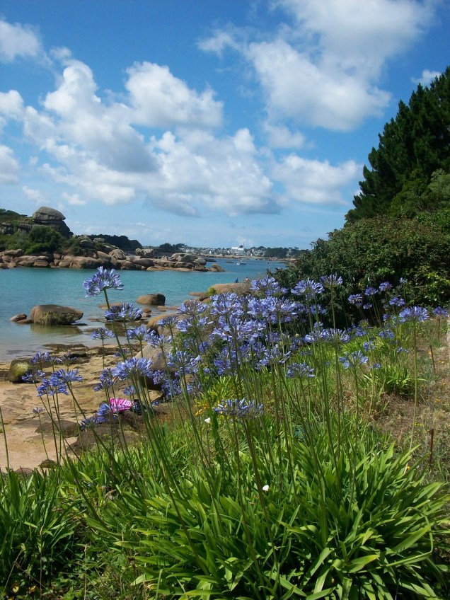 Rose Granite Coast, Brittany, France