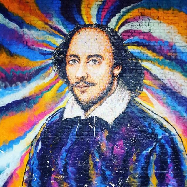 Shakespeare Street Art