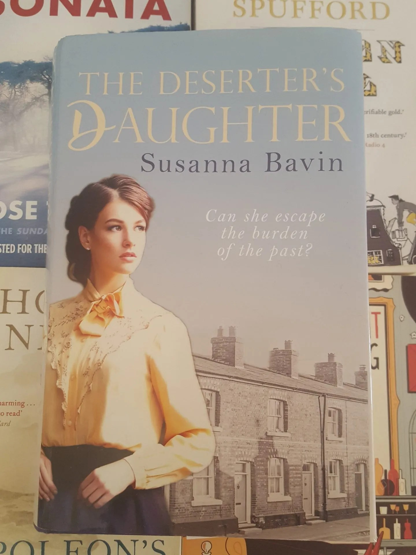 Book Review Deserters Daughter by Susanna Bavin