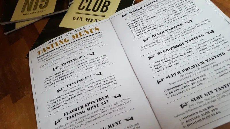 London Gin Club