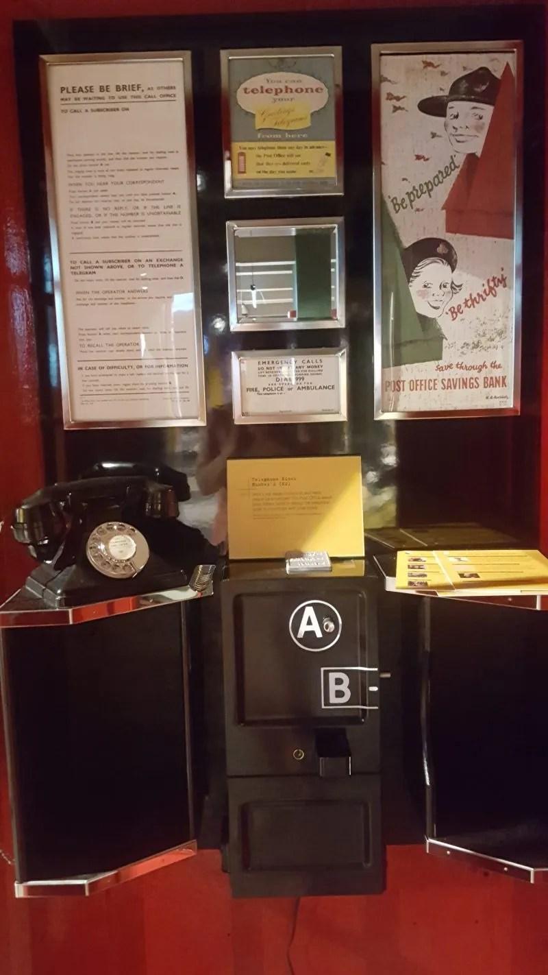 Button A and Button B public call box