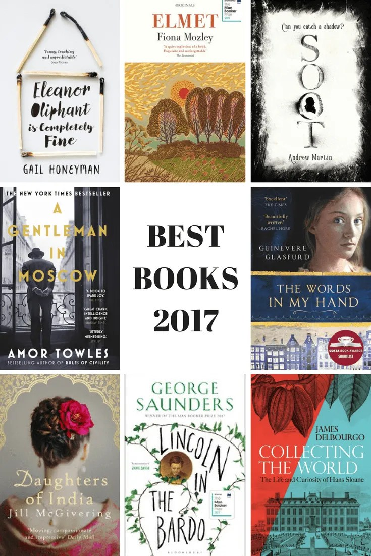 CULTURAL WEDNESDAY'S  BEST BOOKS 2017