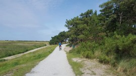 Cycle path Frisian Island