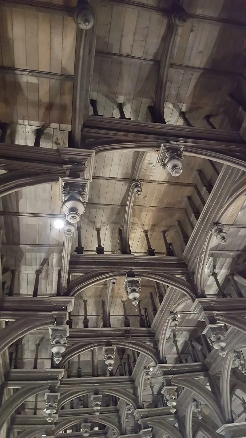 Middle Temple Hammberbeam roof