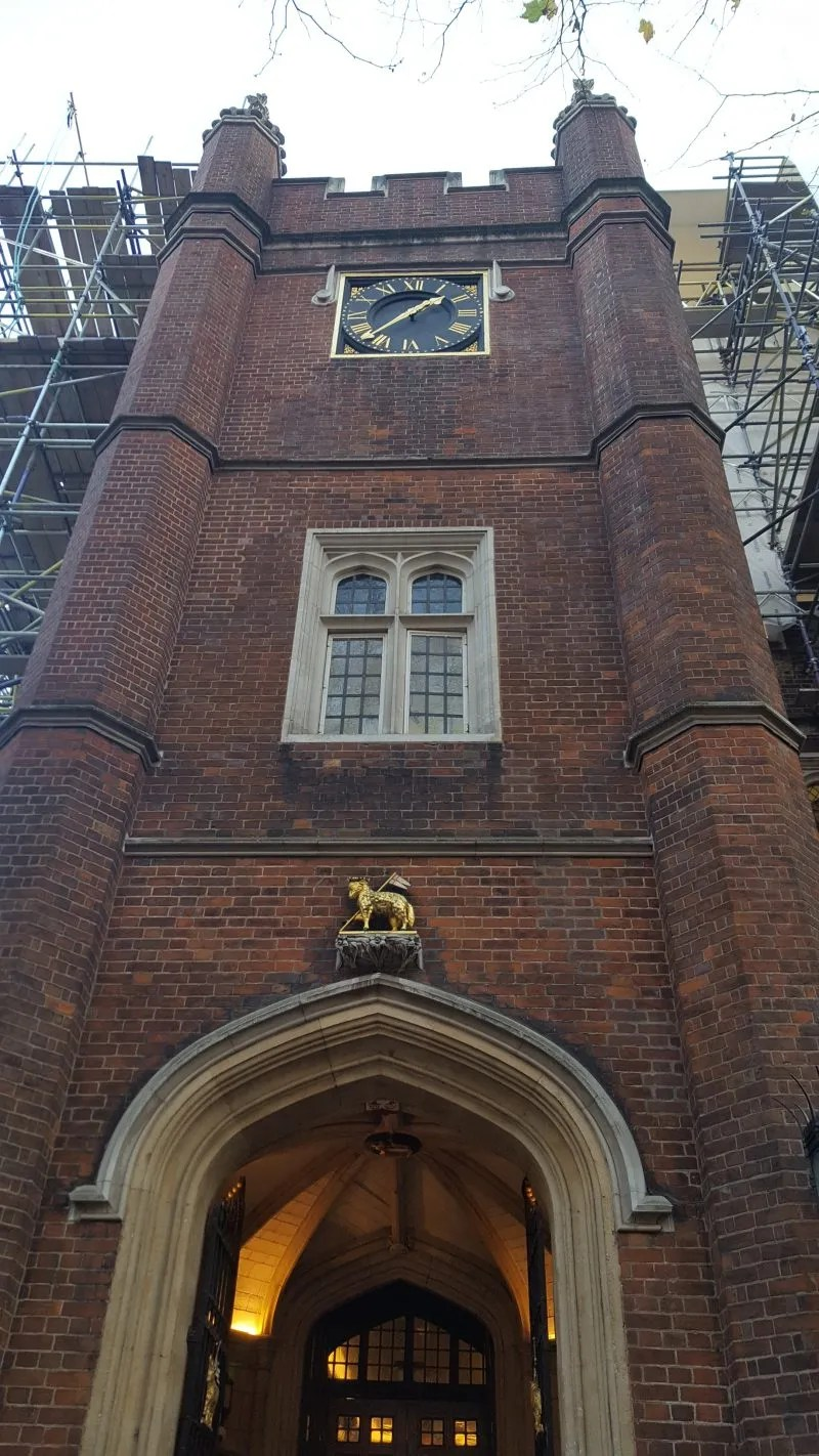 Middle Temple gatehouse