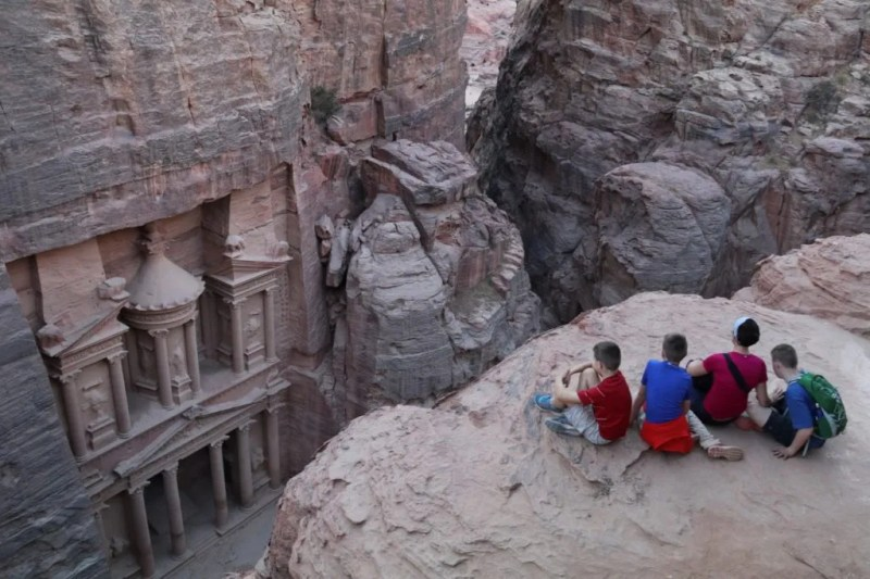 Petra with Kids