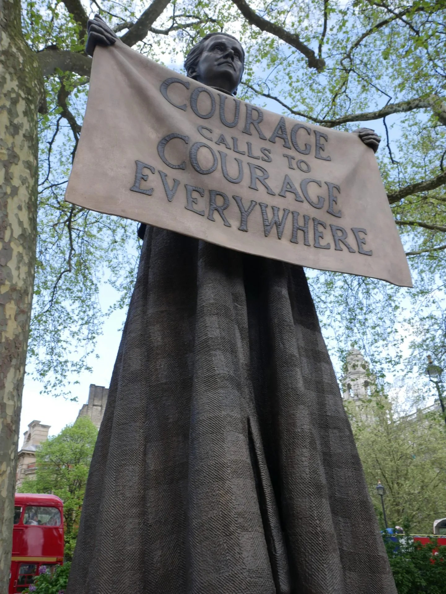 Millicent Fawcett Statue in Parliament Square by Gillian Wearing