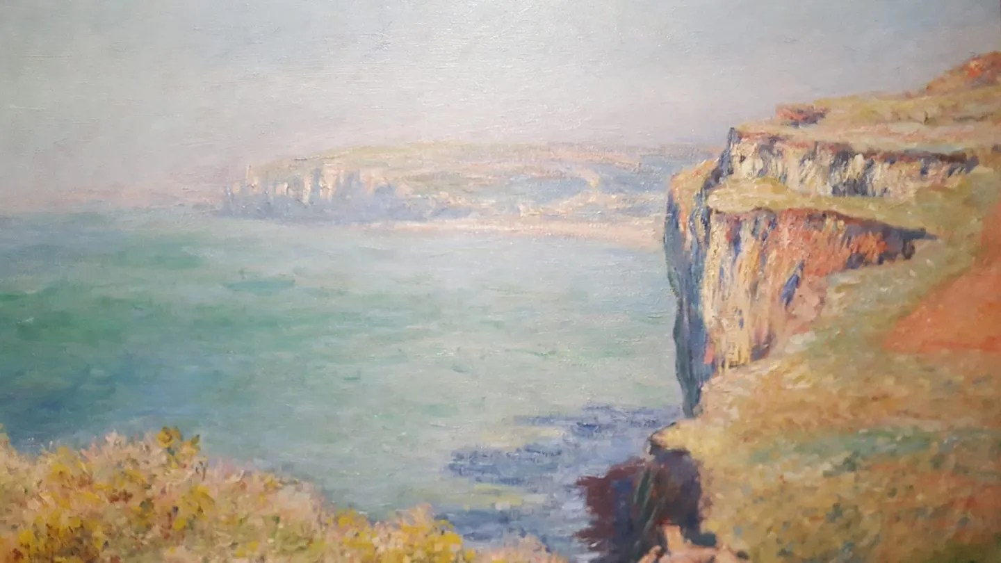 Claude Monet Cliff at Varengeville