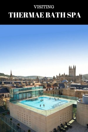 Thermae Bath Spa Day swim in Bath rooftop pool