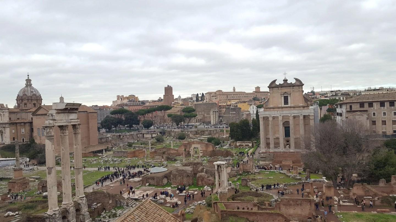 Forum Temple of Vesta Rome
