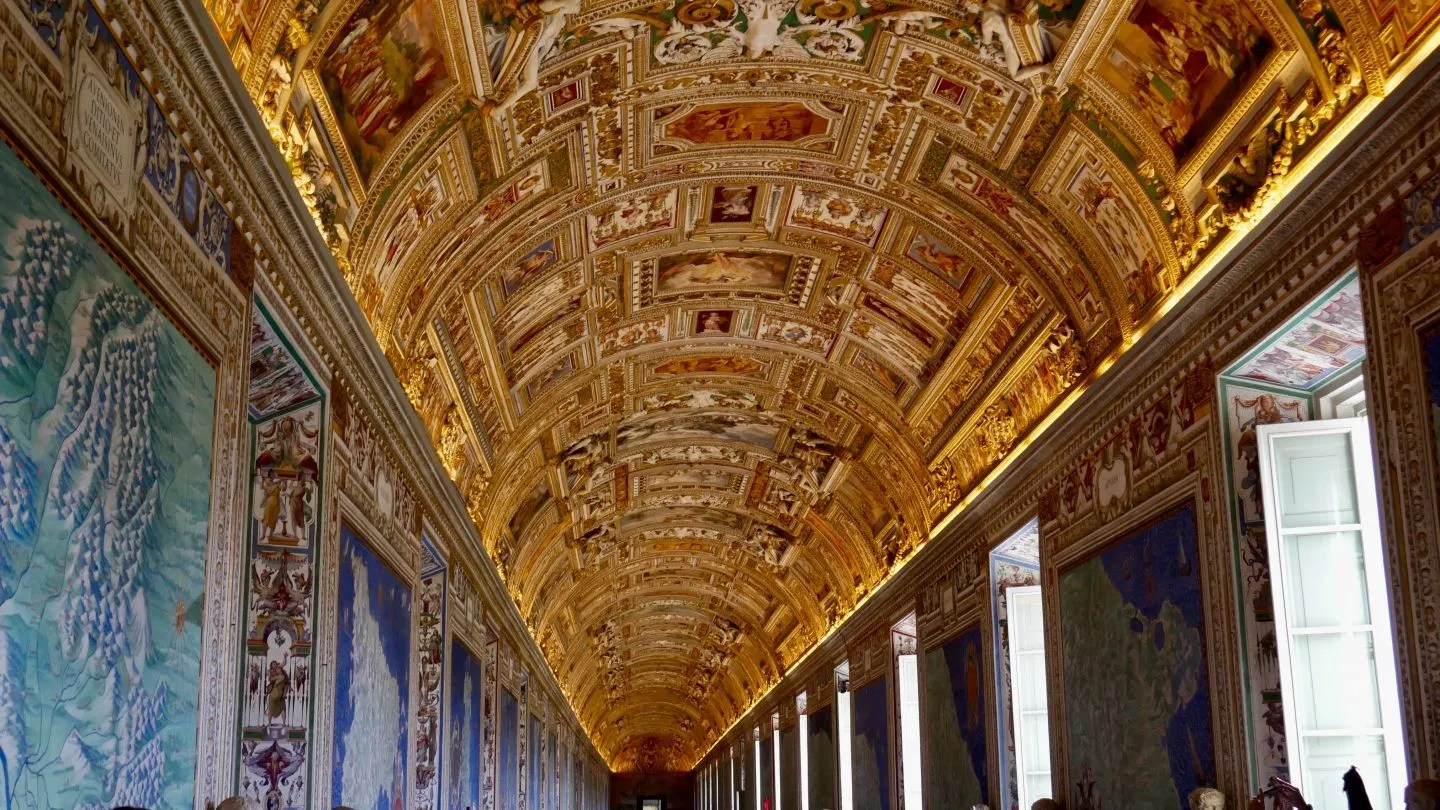 Gallery of Maps Vatican Rome