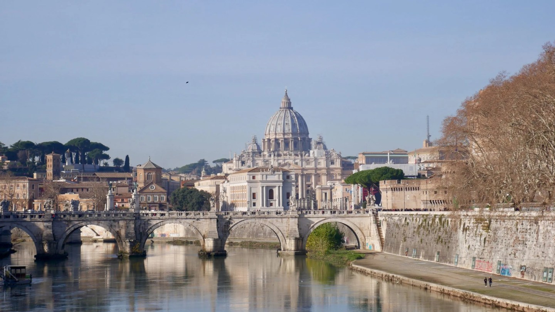 St Peters Tiber Rome