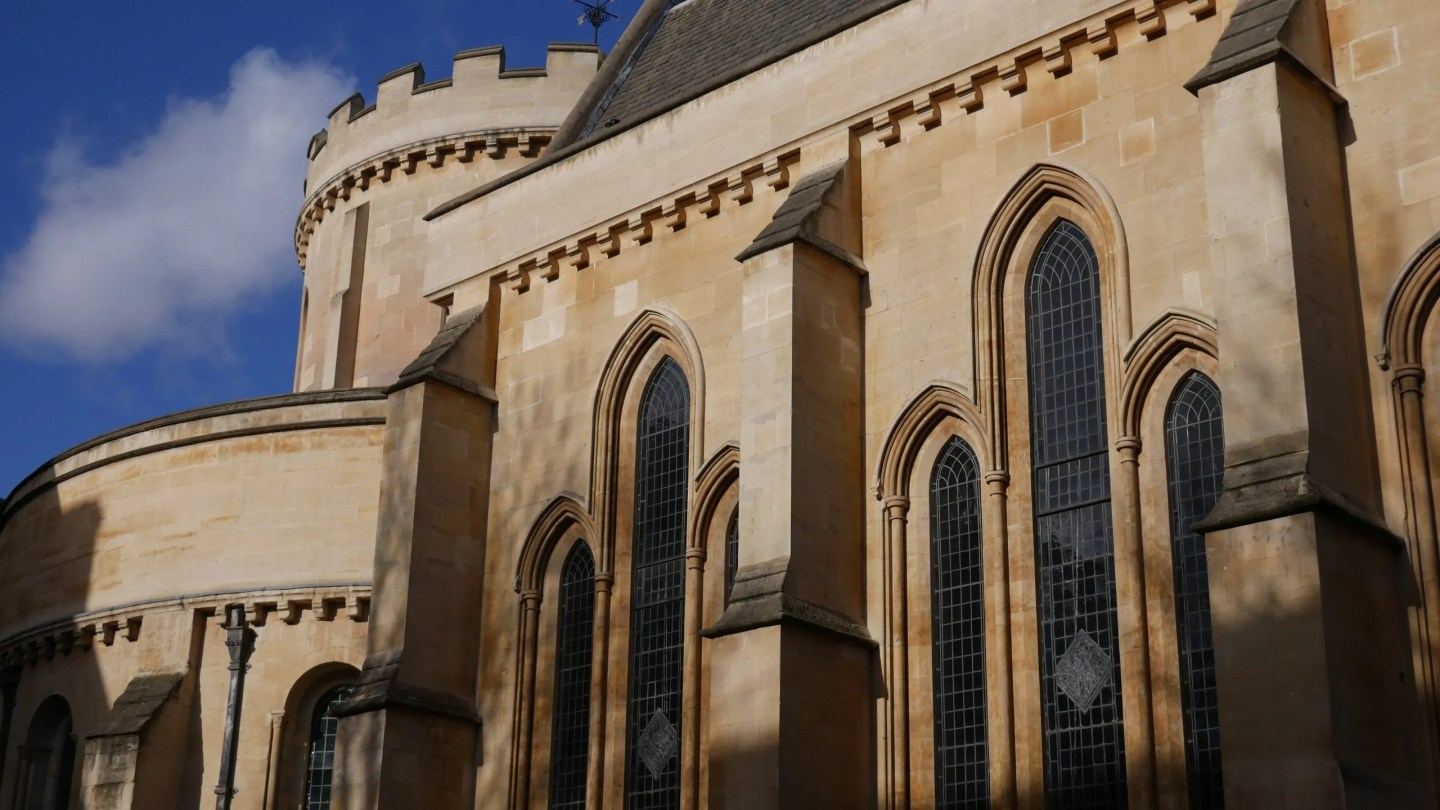 Temple Church London exterior