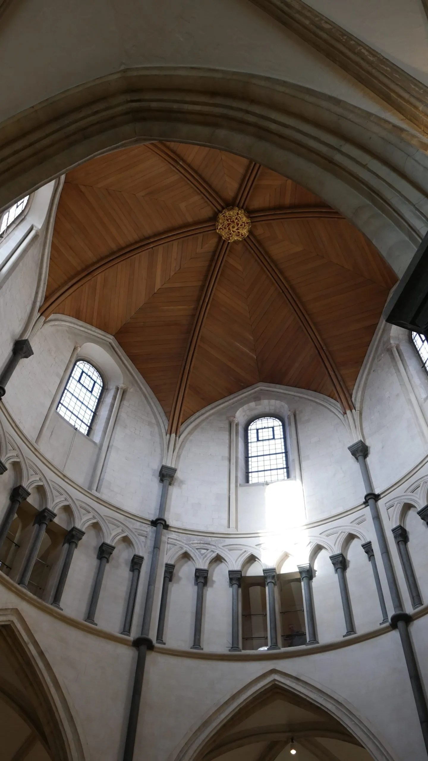 Visiting the Temple Church London