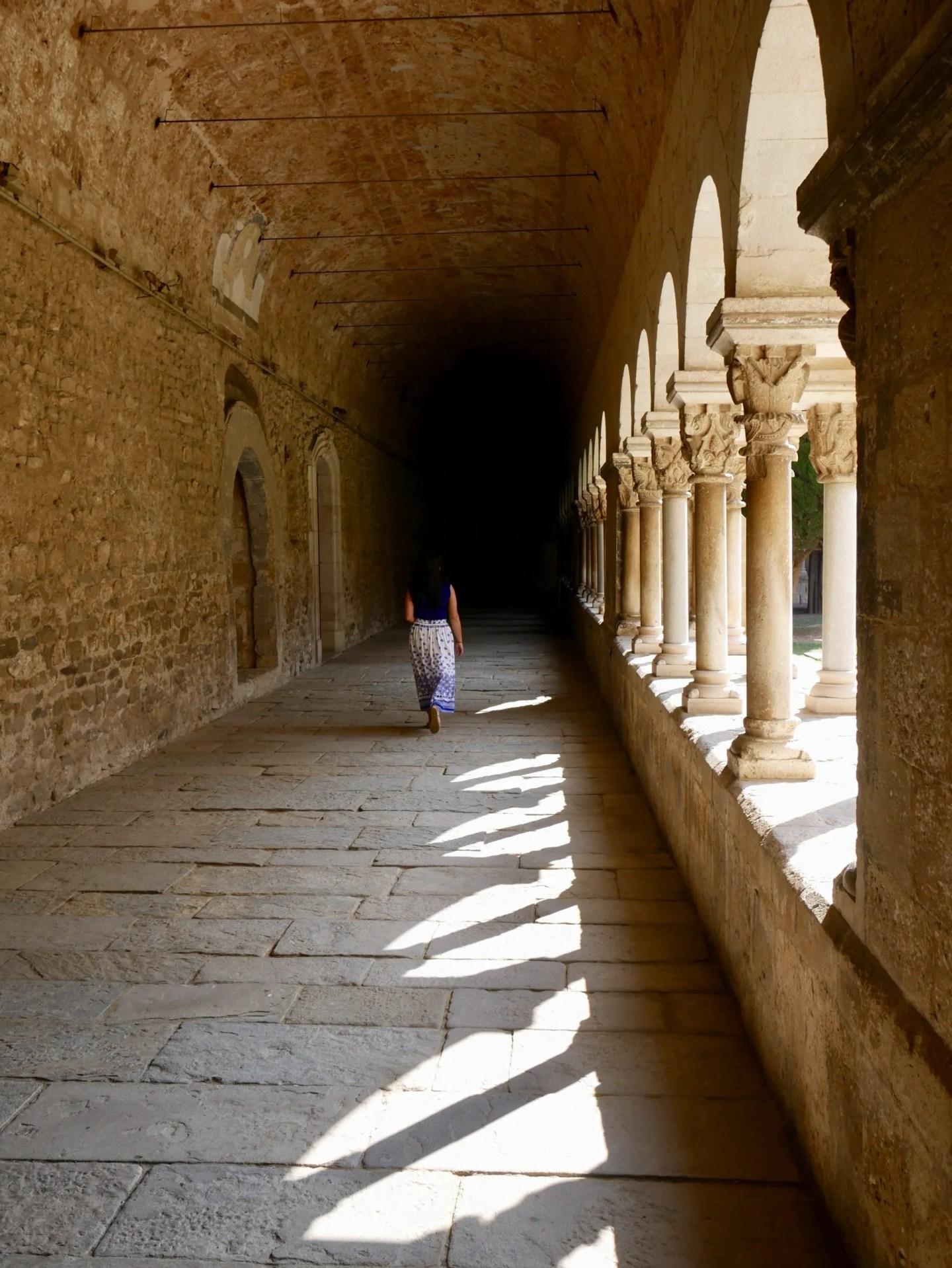 Cloisers Sant Cugat Manastery