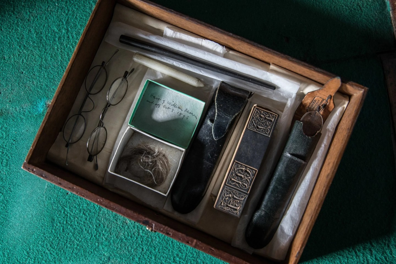 William Morris box Emery Walker's house