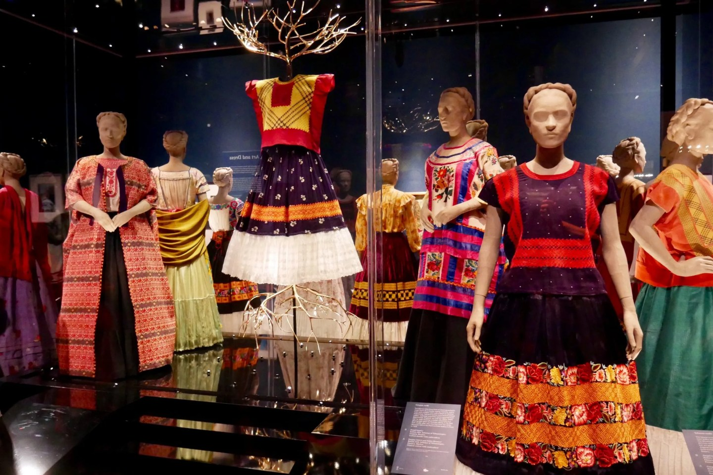 Frida Kahlo Making Herself Up Victoria and Albert Museum