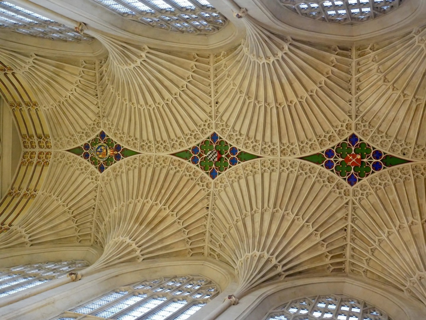 Bath Abbey fan vaulting