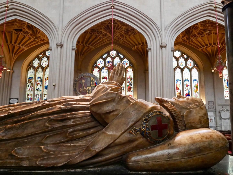 Bath Abbey James Montagu tomb