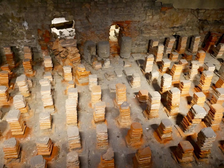 Bath Roman baths excavations
