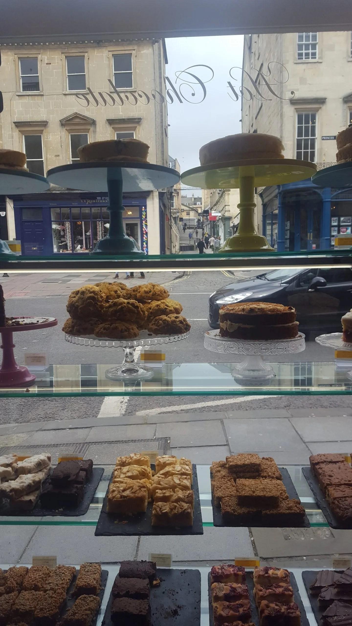 Bath Cake Shop window