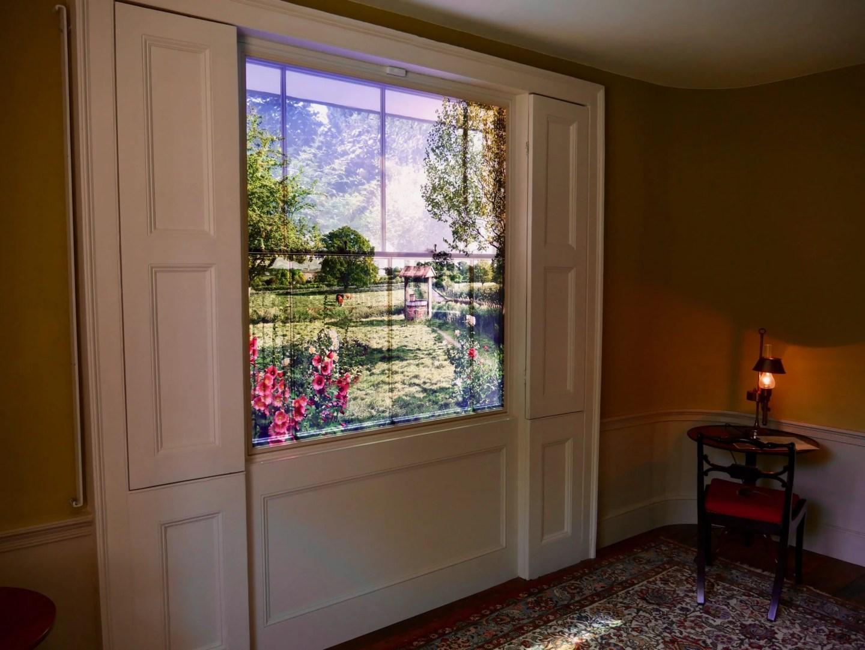 Window Sandycombe Lodge