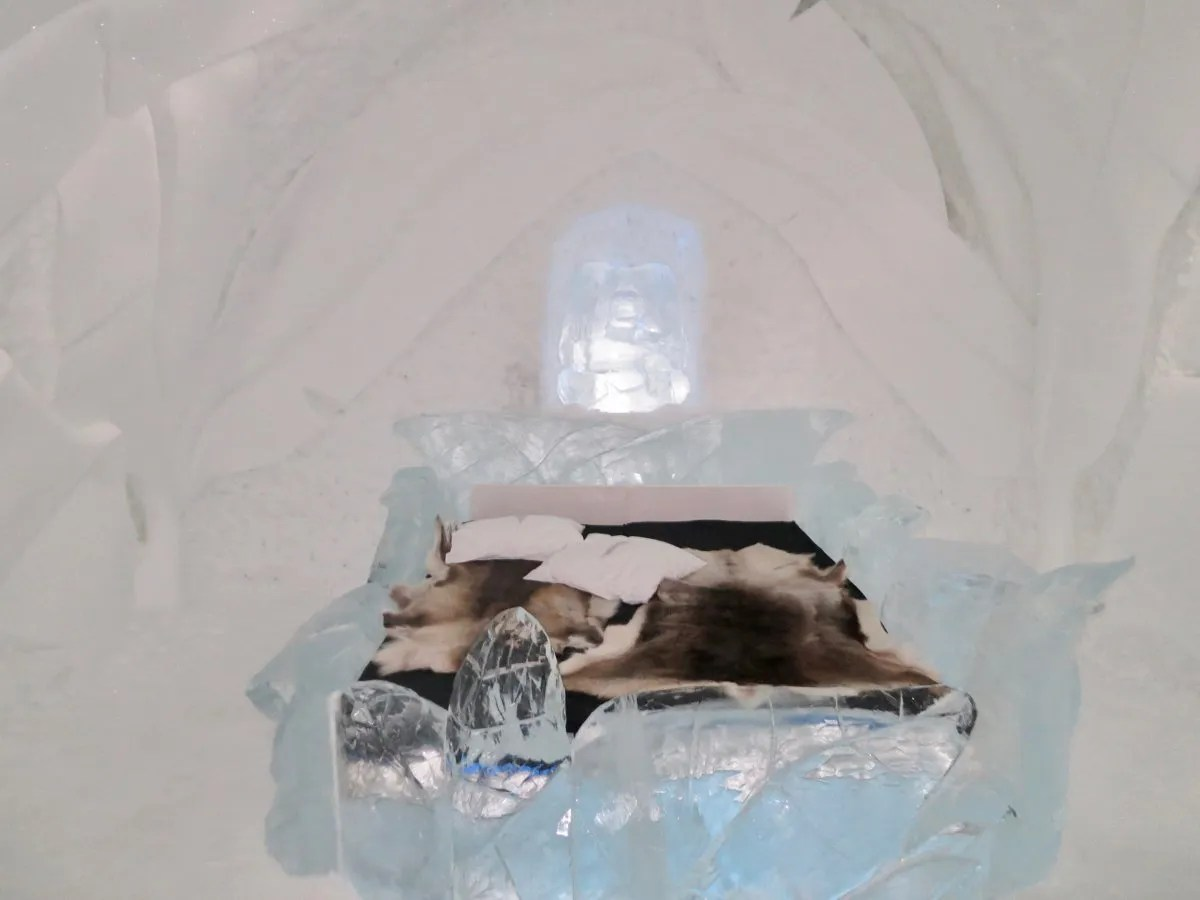 Bedroom IceHotel Sweden