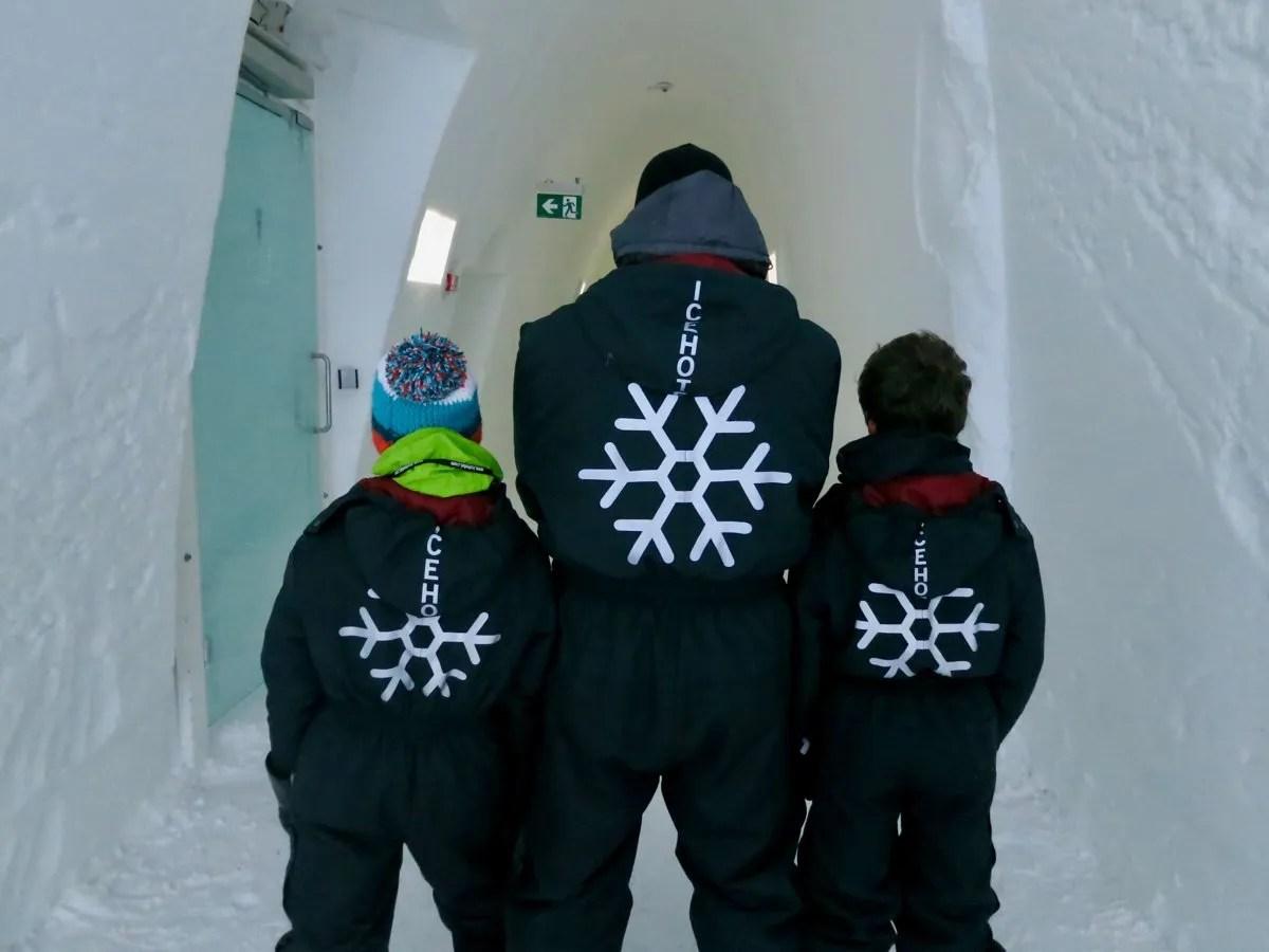 Snowsuits IceHotel Sweden
