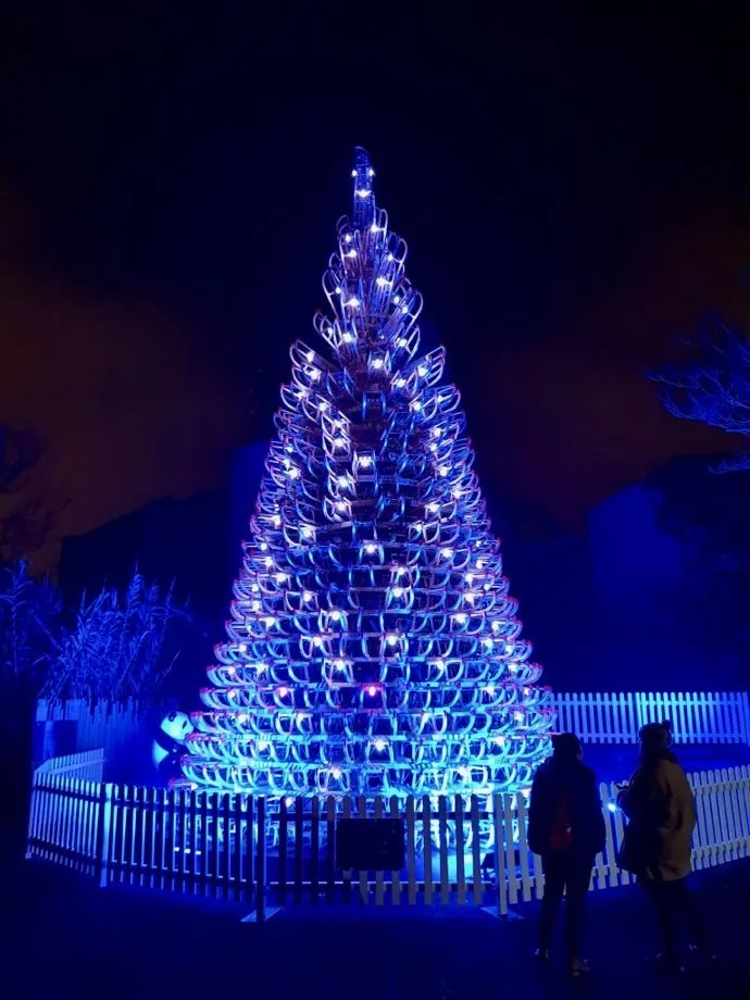Christmas Tree London Zoo