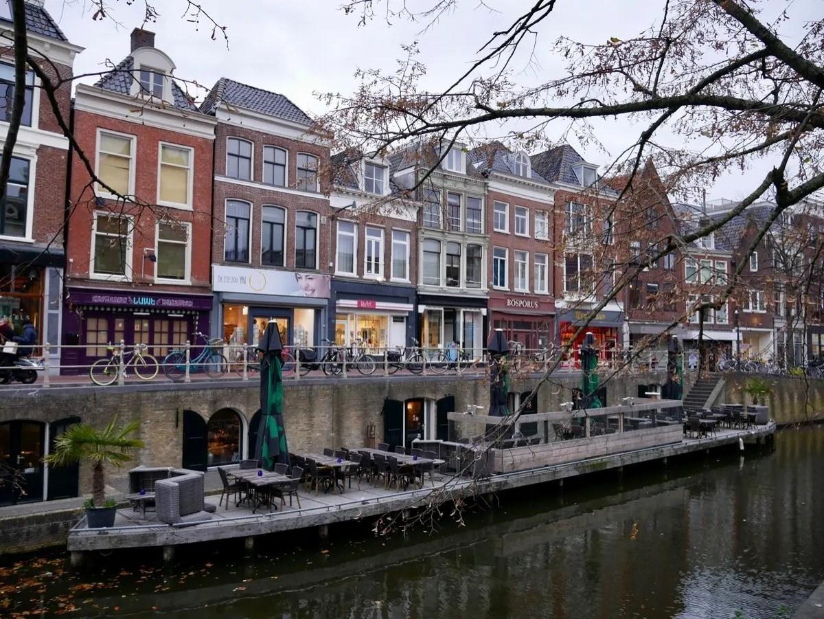 Kelders Canal Leeuwarden Netherlands