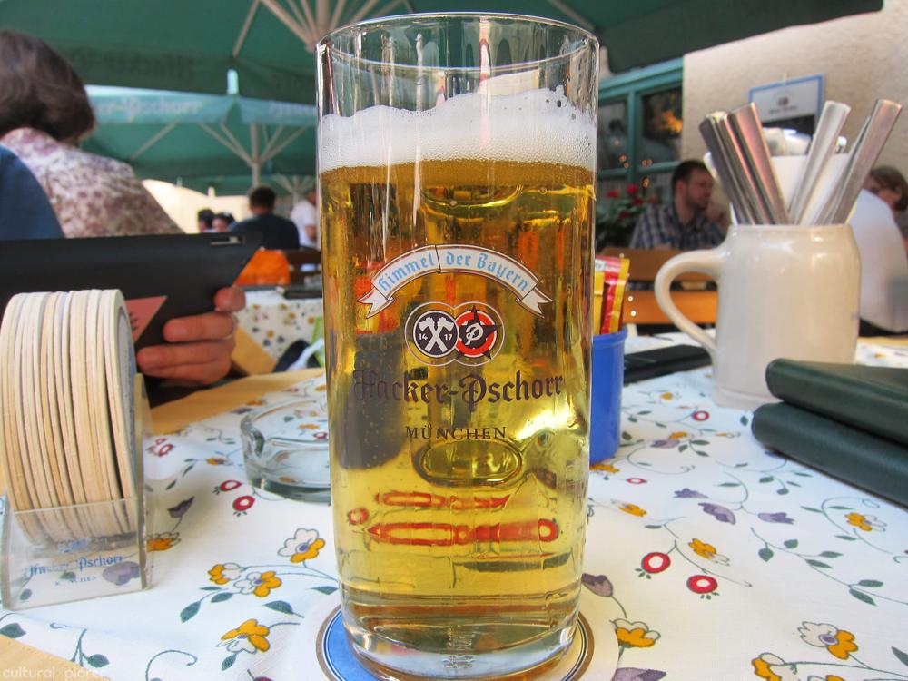 Hacker Pschorr Beer Munich