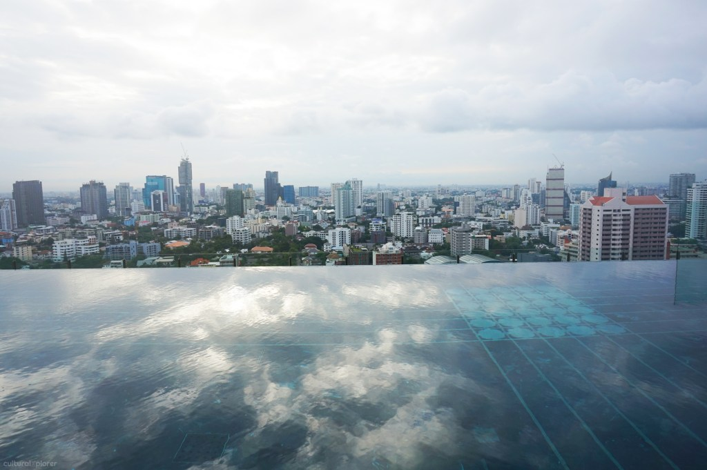 infinity pool 137 pillars bangkok