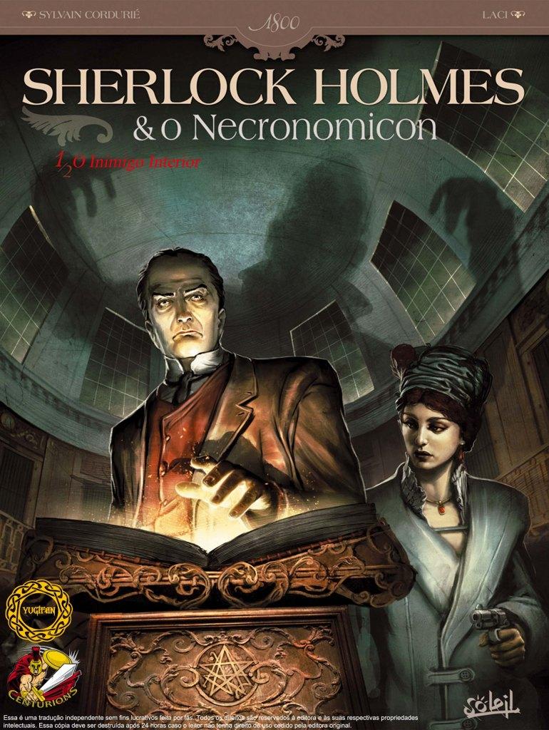 Sherlock Holmes e o Necronomicon #1 capa