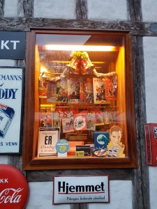 God Jul i kiosken. Foto: Siri Wolland