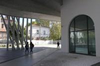 Utenfor Maxxi Museum foto: Siri Wolland